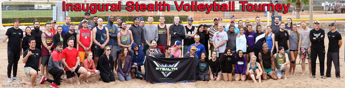 Stealth Beach Volleyball Inaugural Event